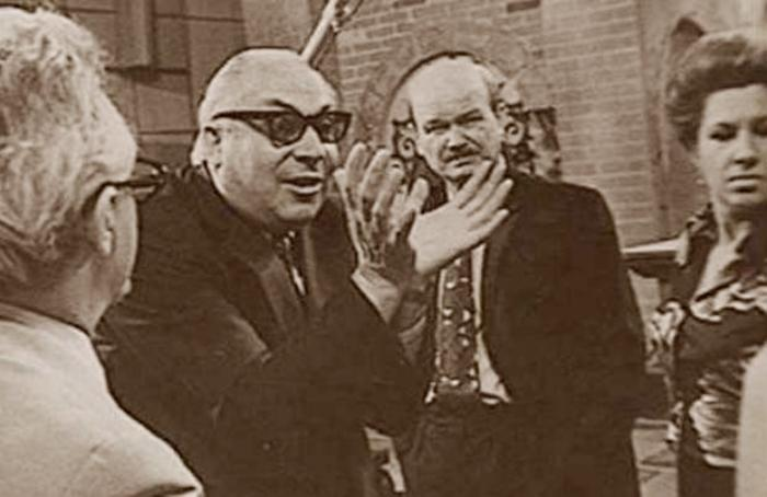 Георгий Зелинский – первый муж актрисы | Фото: stuki-druki.com