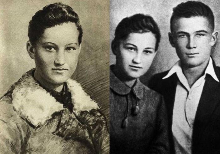 Зоя Космодемьянская и ее брат Шура, который тоже героически погиб на войне | Фото: sovinformburo.com и chtoby-pomnili.com