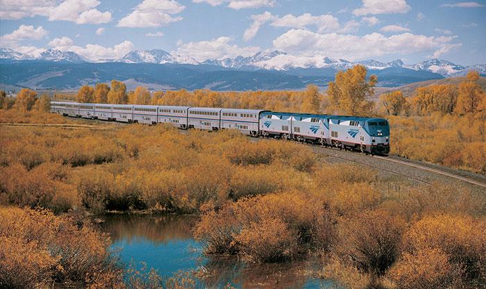 Сказочное путешествие на поезде
