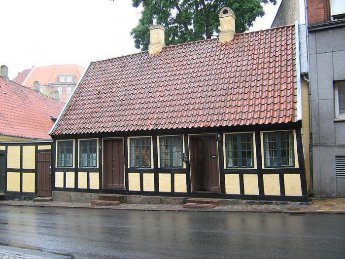 Дом в датском городе Оденсе, где Андерсен жил в детстве