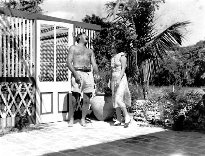 Архивное фото Хемингуэя