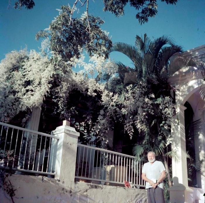 Куба, дом писателя