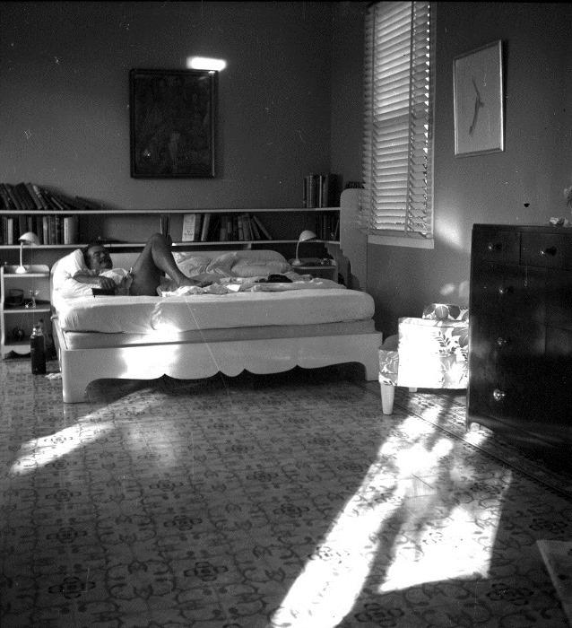Спальня кубинского дома писателя