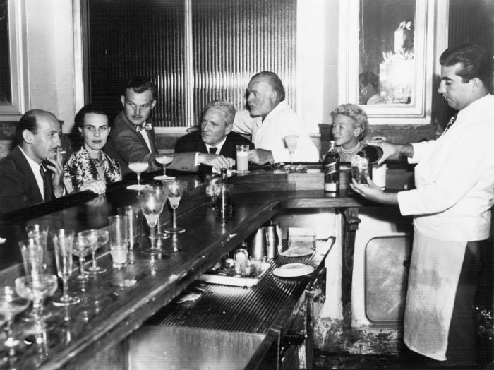 Кубинский бар La Floridita