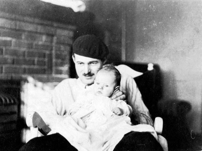 Вместе с сыном, 1924