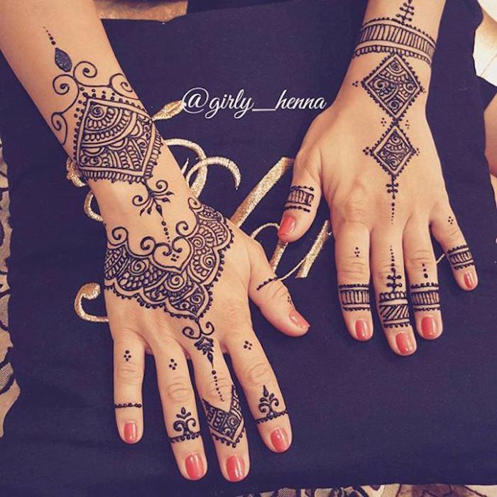 татуировки хной картинки