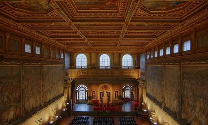 Зал Большого Совета Палаццо Веккио