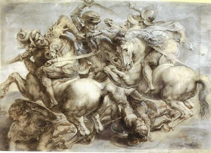 Эскиз Леонардо да Винчи