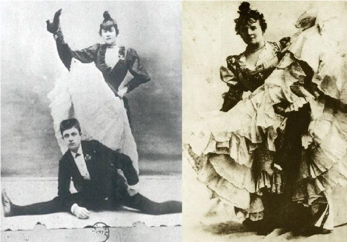 Королева канкана Ла Гулю