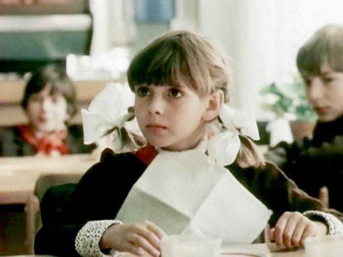 Маша Старцева, кадр из фильма *Приключения Петрова и Васечкина*