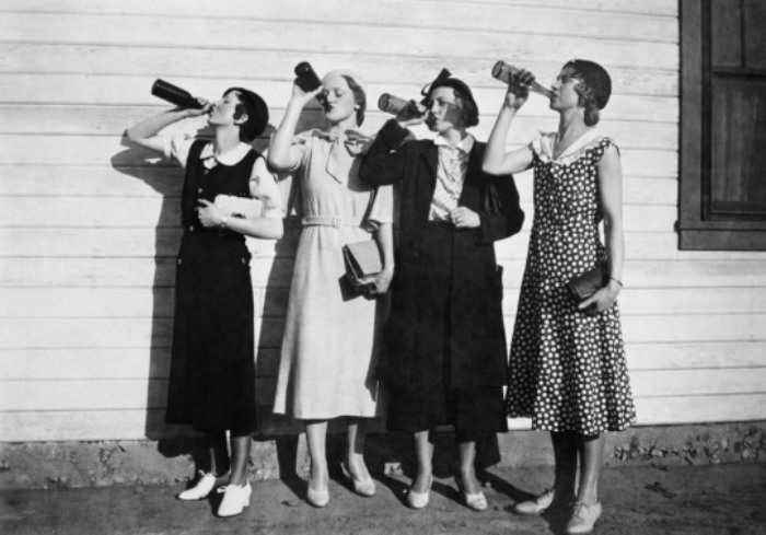 Американки. 1925 год.