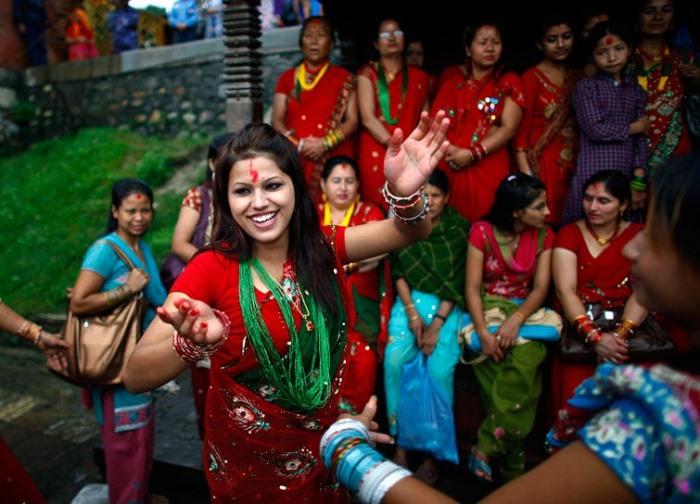 Фестиваль Тидж (Teej festival). Праздник семейного счастья