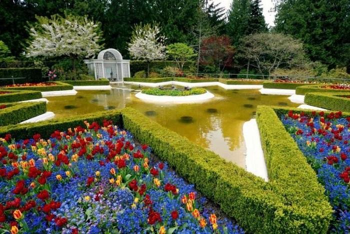 Прекрасное творение человека и природы-сад Бутчартов