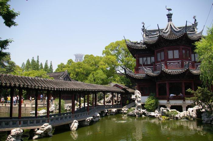 Сад Юй Юань-уголок китайской культуры, которому уже более 400 лет.