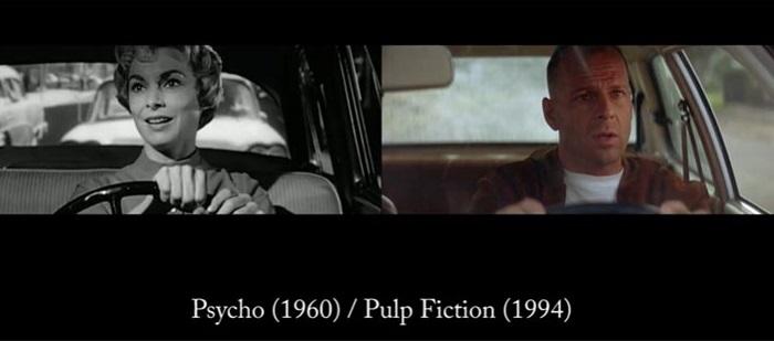 Психо (1960) / Криминальное чтиво (1994)