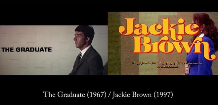 Выпускник (1967) / Джеки Браун (1997)