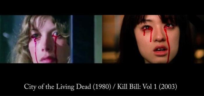 Город живых мертвецов (1980)/ Убить Билла (2002).