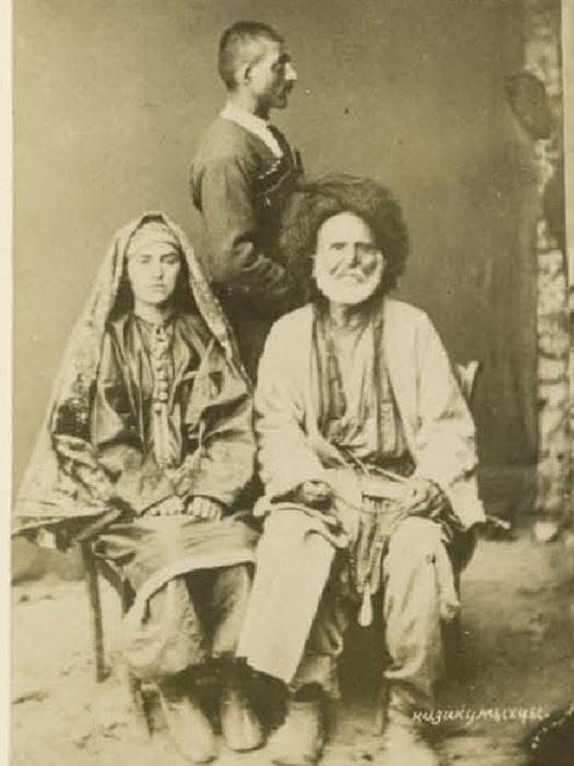 Казикумыхцы - мужчина и женщина. Кавказ, последняя четверть XIX века.