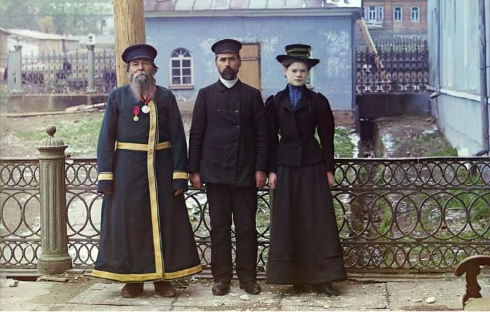 Документальные фотографии Прокудина-Горского, сделанные в начале XX века.