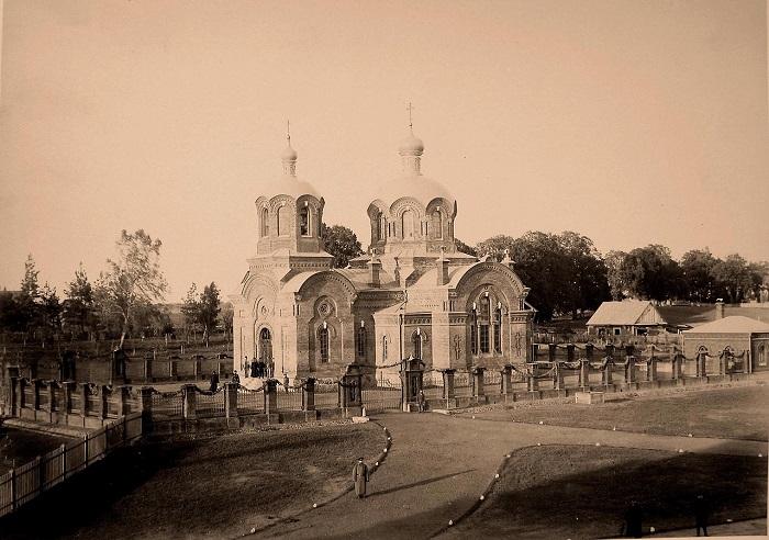 Церковь святого Николая. Беловежская пуща, 1894 год.