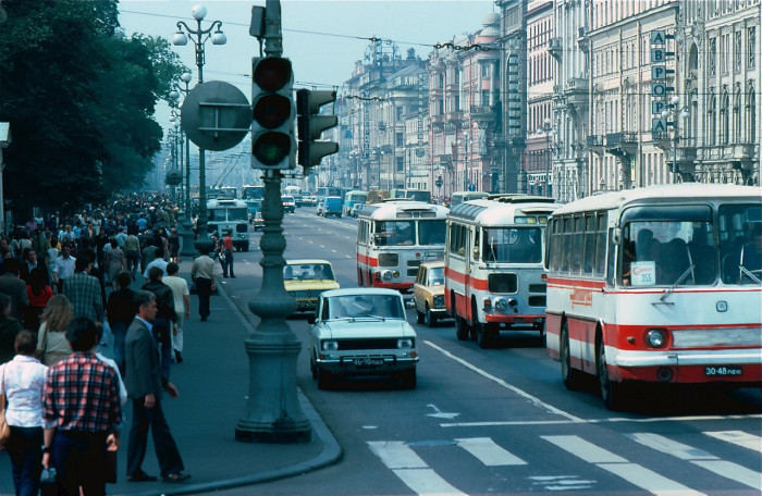 Невский проспект. СССР, Ленинград, 1981 год