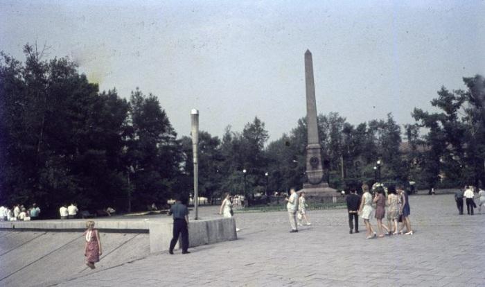 Памятник Первопроходцам Сибири.