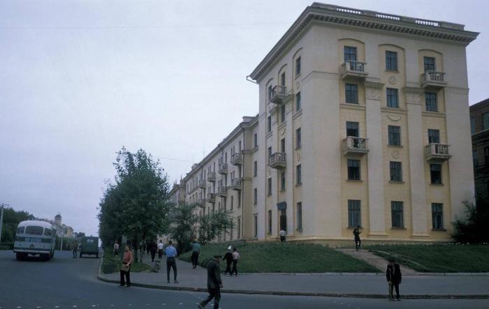 Студенческое общежитие. СССР, Хабаровск, 1964 год.