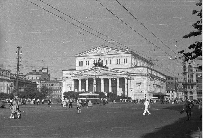 Государственный академический Большой театр Союза ССР.