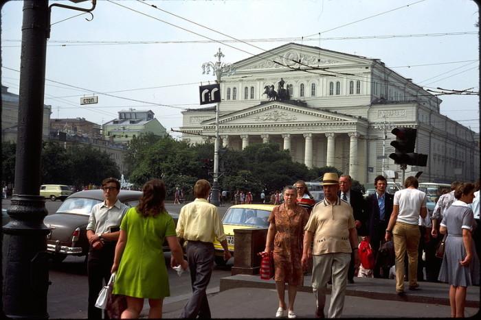 Советские горожане в 1976 году на снимке Жака Дюпакье.