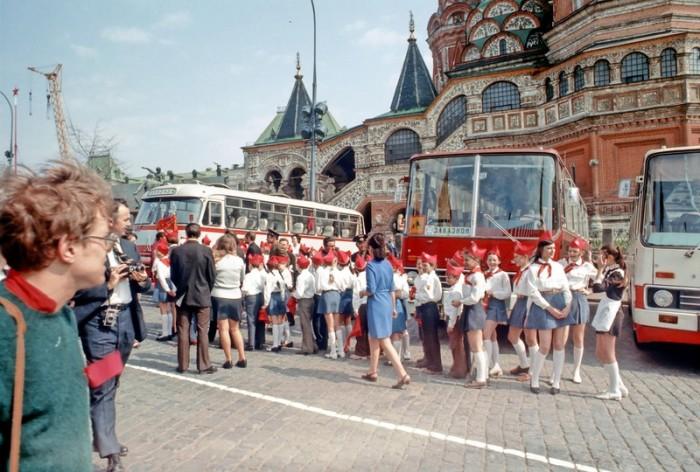 Детские экскурсии на Красной площади в Москве.