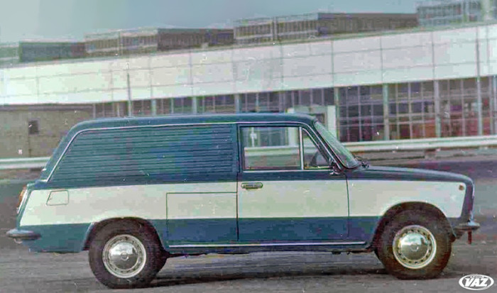 Советский электромобиль ВАЗ-280 1976 год.