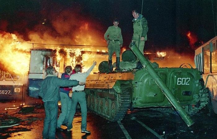 Хроники государственного переворота в 1991 году