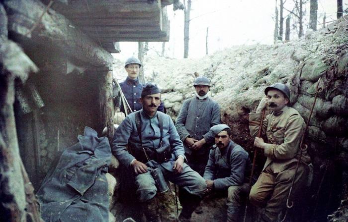 Первая мировая война в объективе французких военкоров.