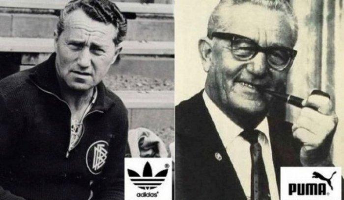Родные братья Адольф и Рудольф Дасслеры, ставшие основателями Adidas и Puma.