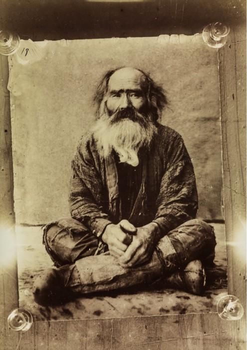 Портрет пожилого айна.