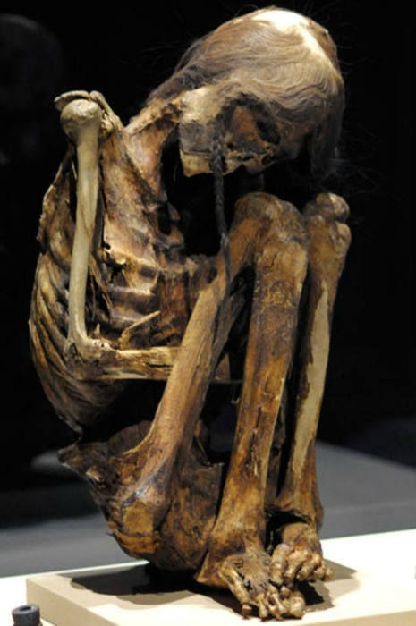 Мумия взрослого мужчины из пре-Колумбийской пустыни Атакама.