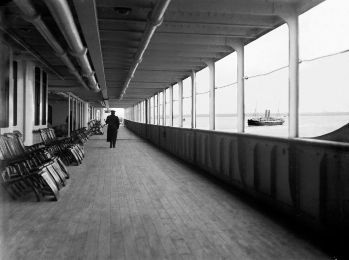 Верхняя палуба Титаника.