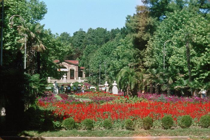 Парк Ривьера в Сочи.