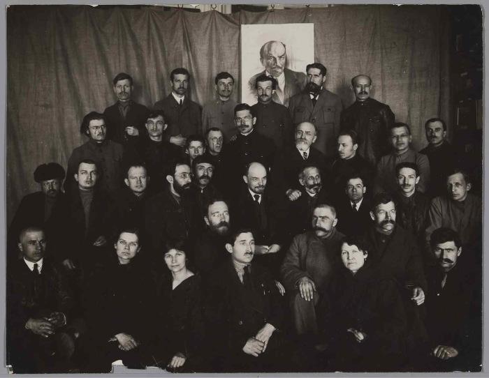Делегаты на втором конгрессе Коммунистического интернационала в 1920 году.