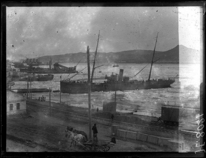 Прибытие в порт Владивостока. 7 марта 1919 года.