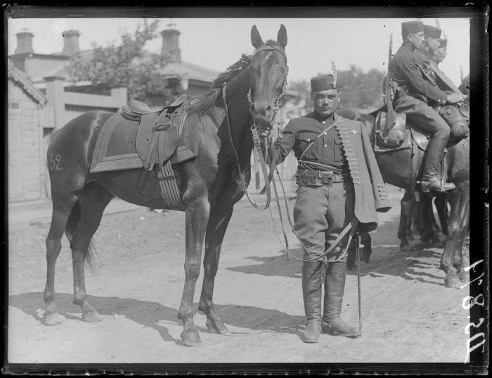 Чешский кавалерист. Сибирь, лето, 1919 год.