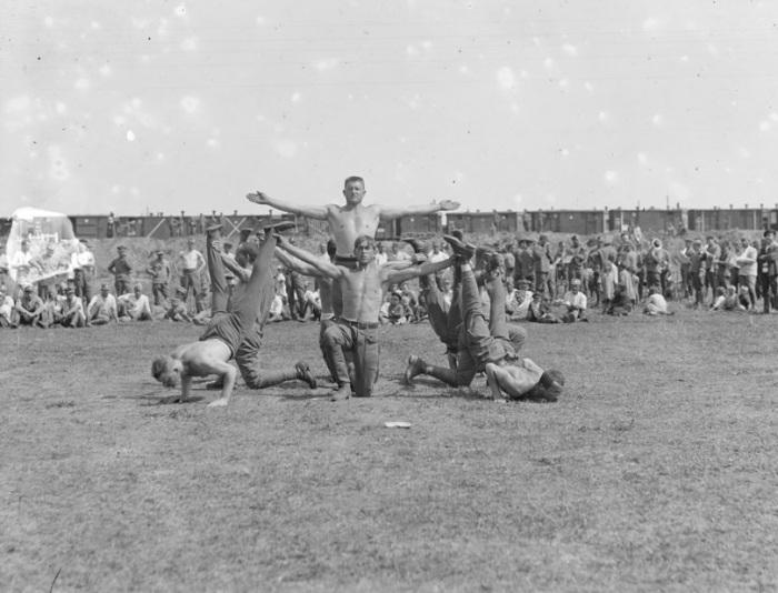 Празднования дня Сокола. Лето, 1919 года.
