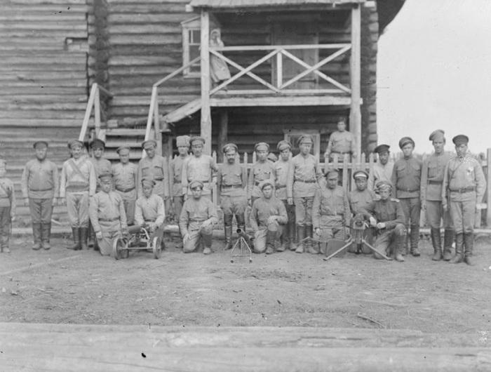 Русский батальон. Троицко-Петровск, лето, 1919 года.