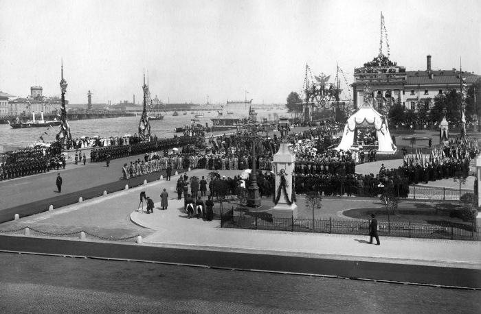 Празднование 200-летия Петербурга в 1903 году.