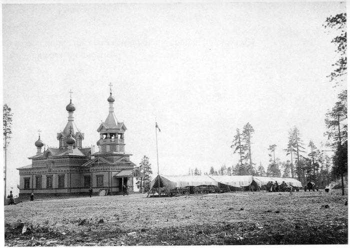 Церковь во имя Святителя Николая Мирликийского Чудотворца. Россия, Архангельск, 1908 год.