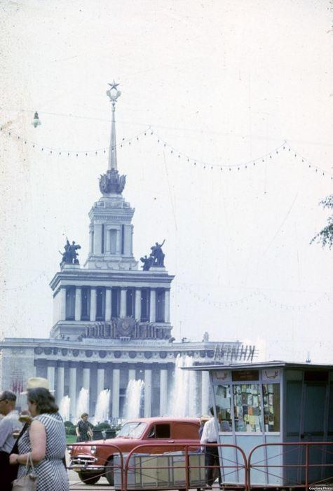 Выставка достижений народного хозяйства СССР. СССР, Москва, 1963 год.