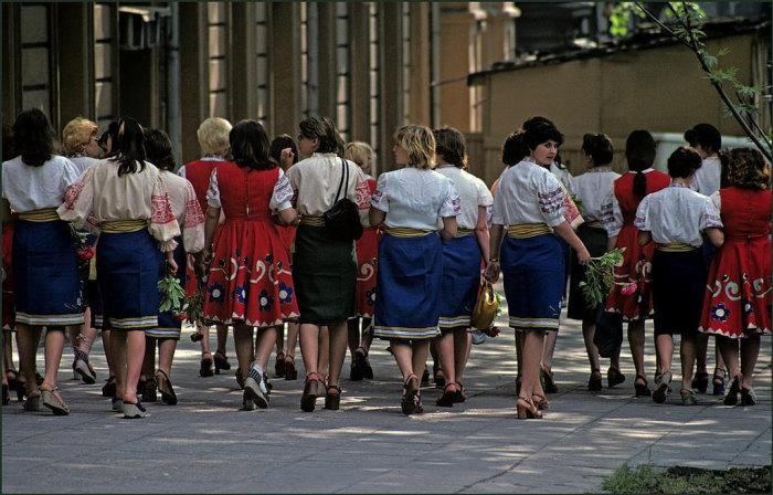 Праздничное мероприятия в центре города.