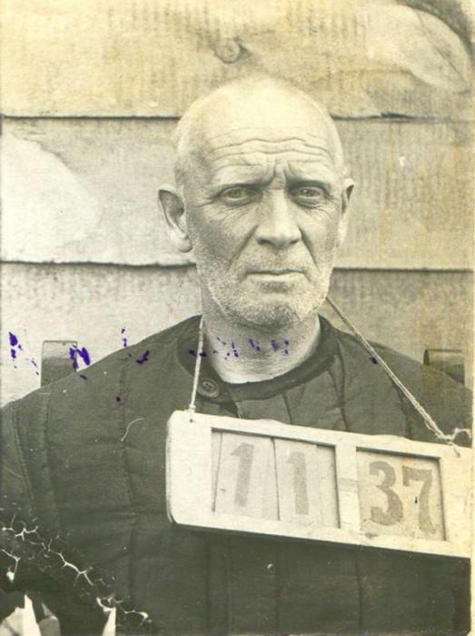 Князь Михаил Долгоруков, перед расстрелом в 1937 году.