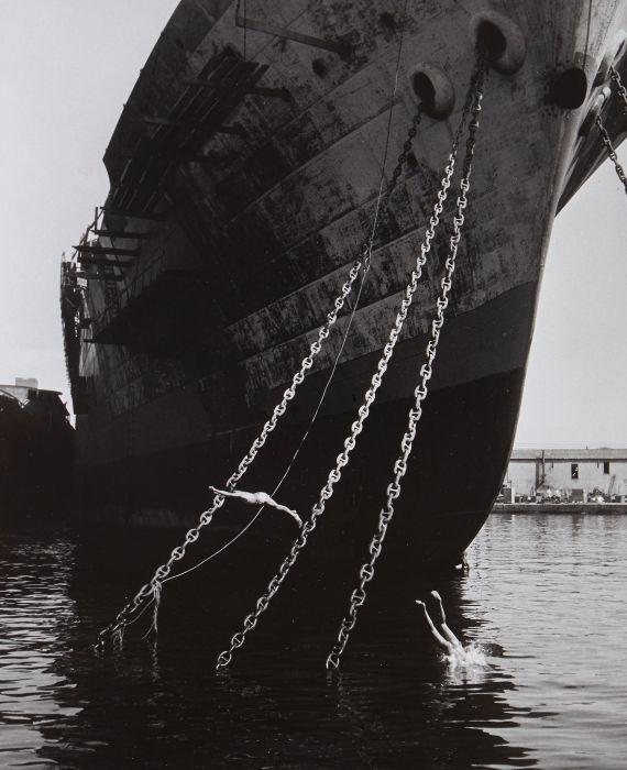 Проход Жюльена Лакруа в 1947 году.
