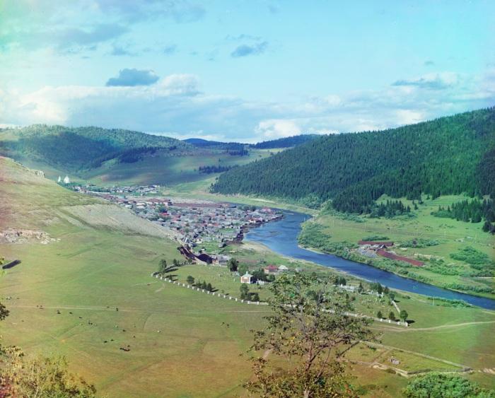 Симская Самаро-Златоустовская железная дорога.